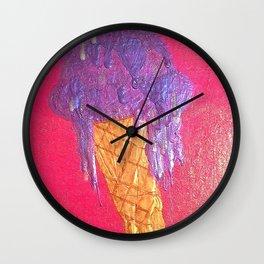 Eye Scream Wall Clock