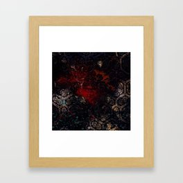 Painting on Fabric Experiment Framed Art Print