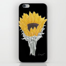 Sunflower 01b Botanical Flower iPhone Skin