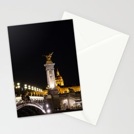Les Invalides At Night Stationery Cards