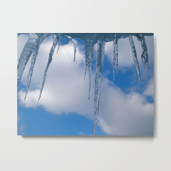 Frozen (for devices) Metal Print