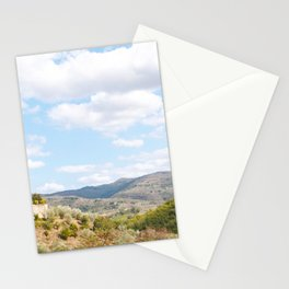 Rolling Hills of Tuscany Stationery Cards