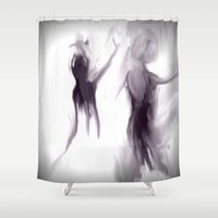 ballet Shower Curtains featuring Ballet by Jessielee
