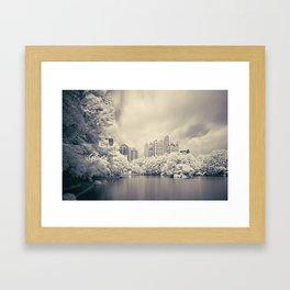 Piedmont Park Framed Art Print