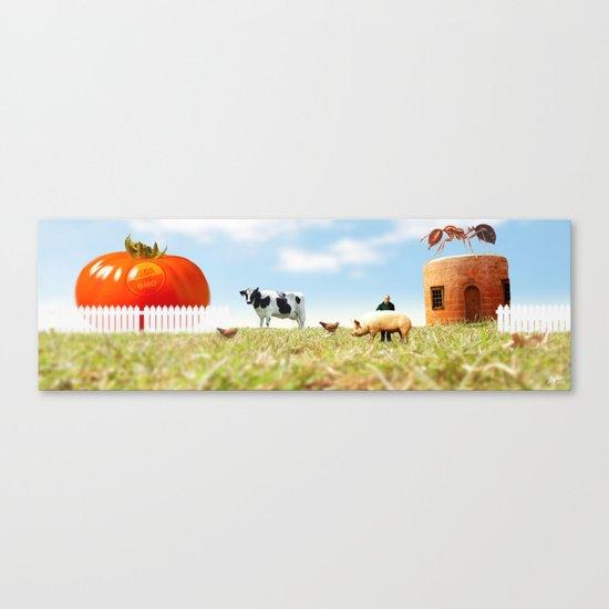 Honey I Shrunk the Farm. Canvas Print