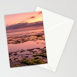 Magic sunset at Nyang Nyang beach in Bali Stationery Cards
