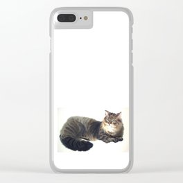 Her Majesty Clear iPhone Case