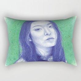 At the moss garden Rectangular Pillow