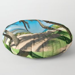 Kuau Beach Paia Maui North Shore Hawaii Floor Pillow