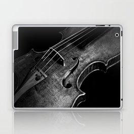 Black and White Violin Laptop & iPad Skin