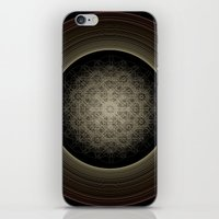 saturn iPhone & iPod Skins featuring Saturn by Jon May