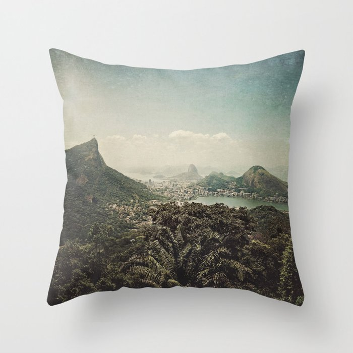 a piece of heaven Throw Pillow