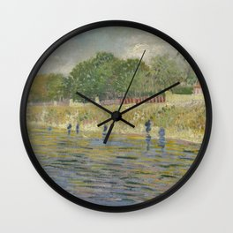 Bank of the Seine Wall Clock