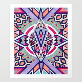Abstract Journey II Art Print