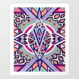 Abstract Journey II Art Print