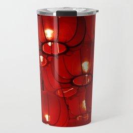 Red Lanterns Travel Mug