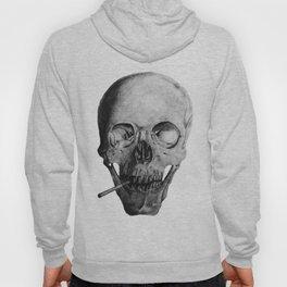 Smoking Skull Hoody
