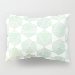 Geometric Sand & Sea Pillow Sham