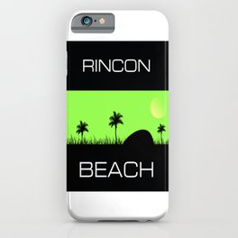 Rincon Beach iPhone Case
