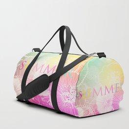 FESTIVAL PRISMATIC SUMMER RAINBOW Duffle Bag