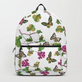 Botanical Pattern Backpack