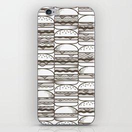 Burgers Wall iPhone Skin