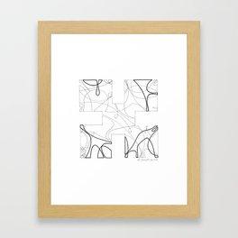 animorph 01 - the beginning  Framed Art Print