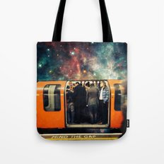 Mind The Galaxy | London Tube Series Tote Bag