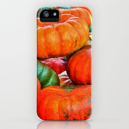 Heirloom Pumpkins iPhone Case