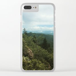 Devil's Courthouse Clear iPhone Case
