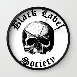 BLACK LABEL SOCIETY P3 TOUR DATES 2019 UDANG Wall Clock