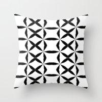 xoxo Throw Pillows featuring XOXO by Julie Maxwell
