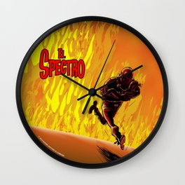 Les Aventures d'El Spectro  Wall Clock