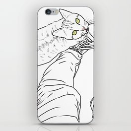 Everything I know I learned from my cat iPhone Skin