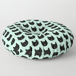 Cat Heart Nose Pattern Floor Pillow