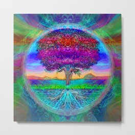 Everlasting Wonder Tree of Life Metal Print