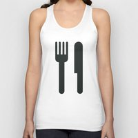 food Tank Tops featuring Food by Alejandro Díaz