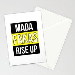 Protest Demonstration Uprising Revolt Revolution Stationery Cards