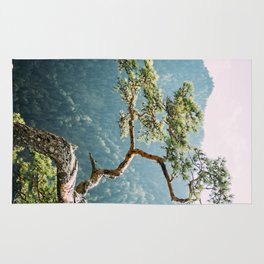 Sokolica Mountain Pine Tree Rug
