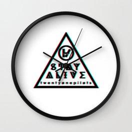 21 pilots Wall Clock