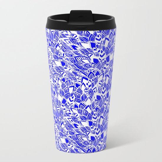 Moroccan Bloom Metal Travel Mug