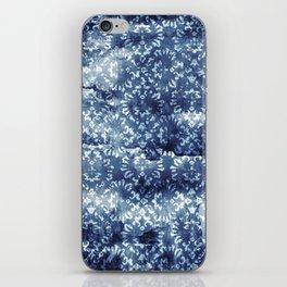 Indigo Batik Abstract iPhone Skin