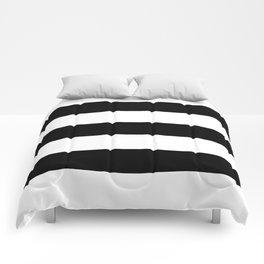 BLACK  & WHITE STRIPES XXL Comforters