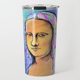 Mona Lisa Travel Mug
