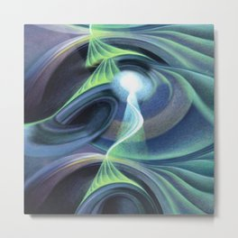 Emotional Activation - Abstract Metal Print