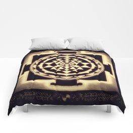 Sri Yantra XVII - Diffuse Light Comforters