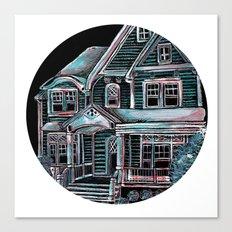 Home, Bright Home Canvas Print