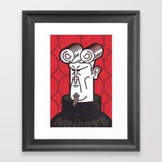 Herr Mugatu Framed Art Print