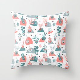 Le Printemps  Throw Pillow