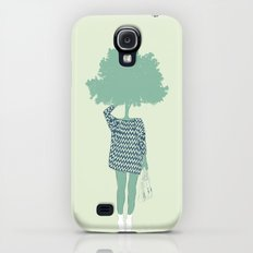 Woman Nature 6 Galaxy S4 Slim Case